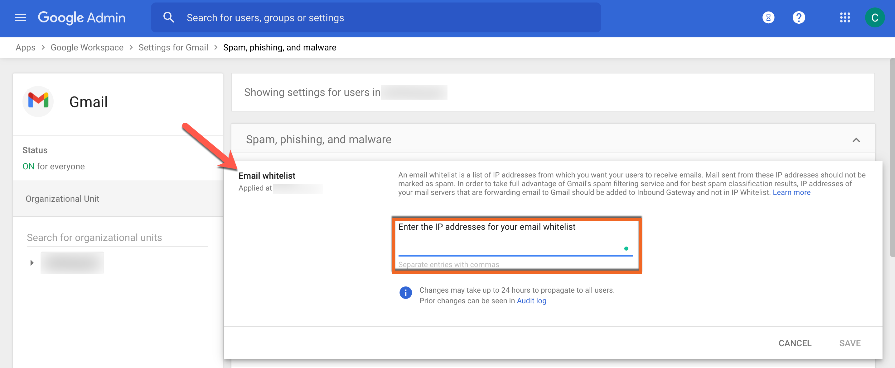 Whitelisting by IP Address in GSuite/Google Apps – Knowledge Base