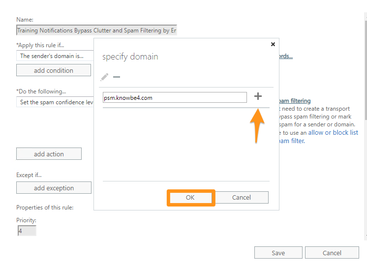 Whitelisting Training Emails in Office 365 – Knowledge Base