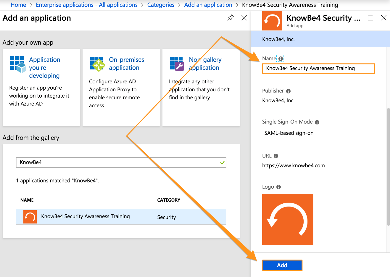 How Do I Enable SSO/SAML For Azure Active Directory (AD