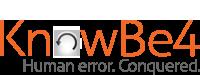 KnowBe4 logo.