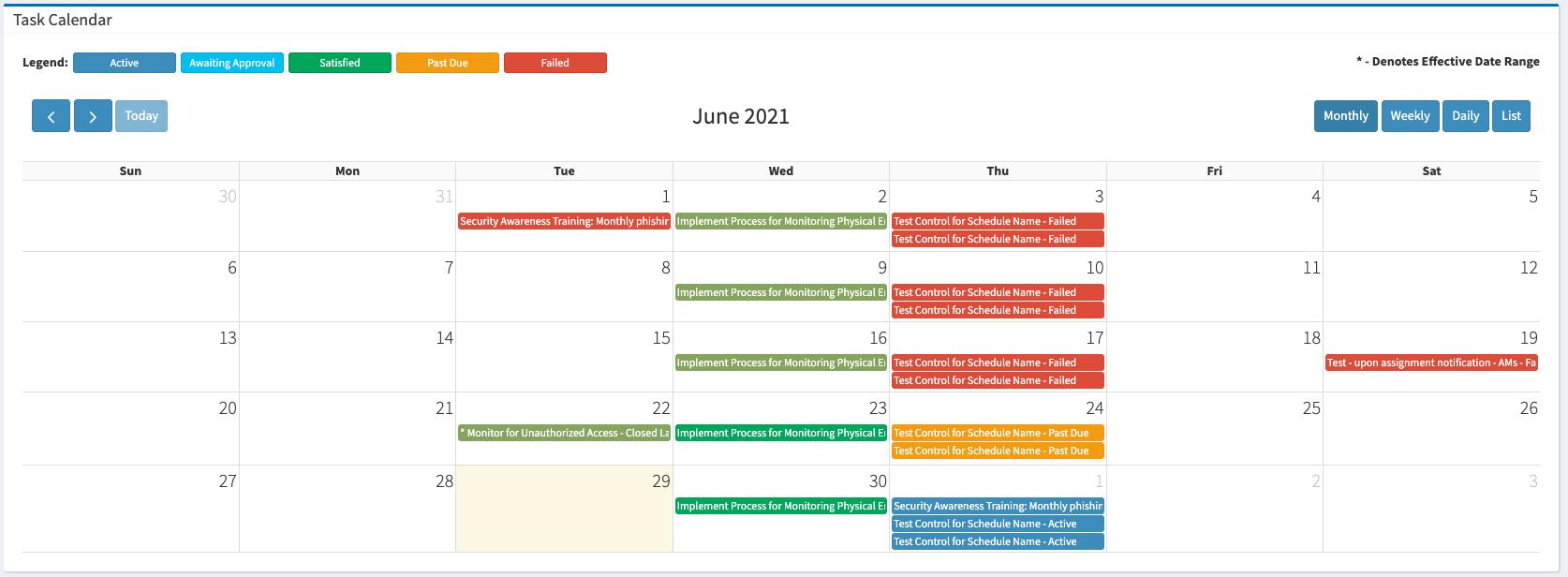 Global Dashboard Task Calendar PNG