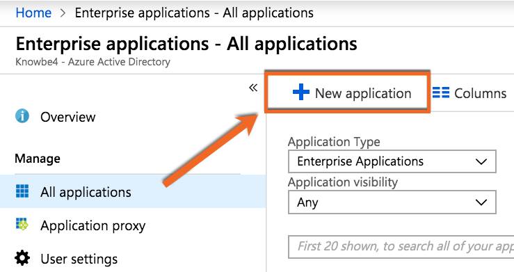 Azure All Applications tab PNG