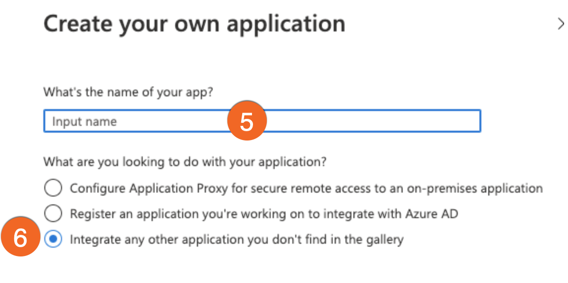 Azure Create your own app PNG
