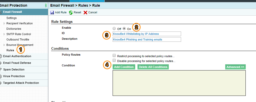 Whitelisting in Proofpoint – Knowledge Base