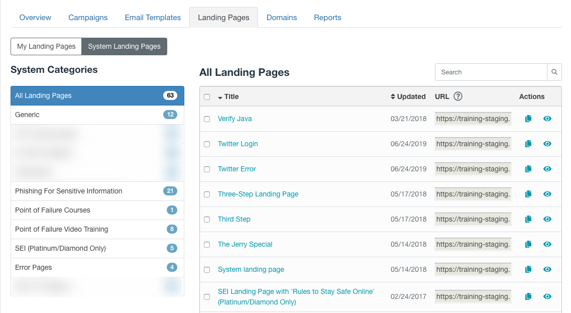 Customizing Emails Landing Pages Knowledge Base