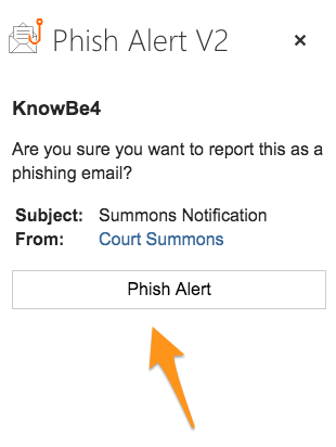 How Do I Use the Phish Alert Button for Office 365