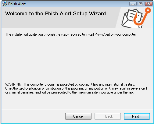 Phish Alert Button Guide for Outlook (Client-based