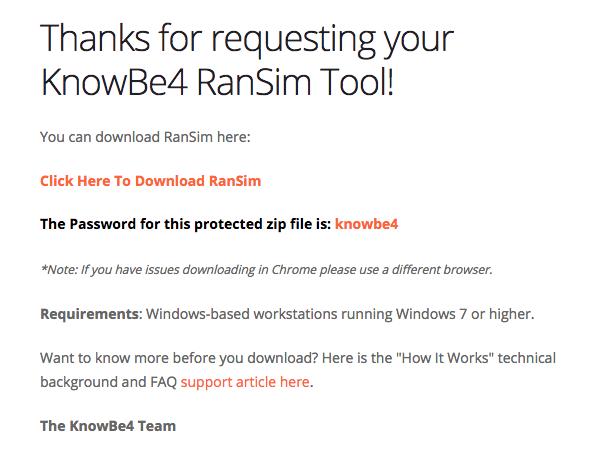 RanSim – Knowledge Base